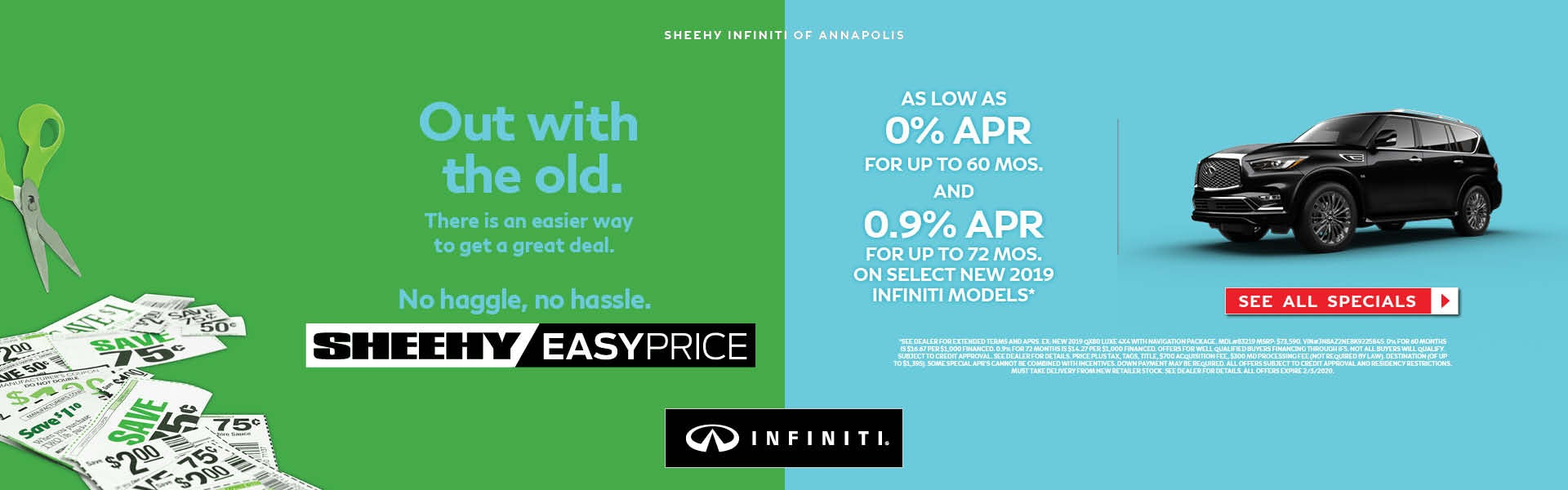 Sheehy Infiniti Of Annapolis >> Infiniti Dealer In Annapolis Md Used Cars Annapolis